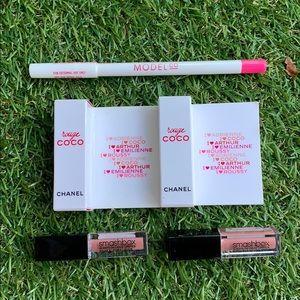 CHANEL + Smashbox lip set 💋